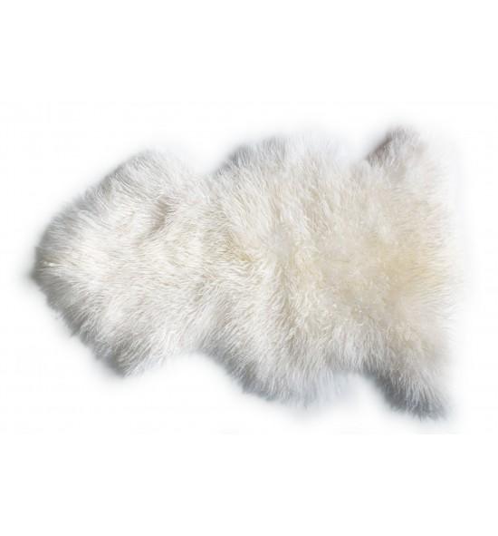 Peau de mouton décorative frisée