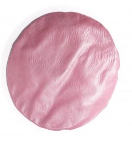 Béret en agneau plongé - Rose disco