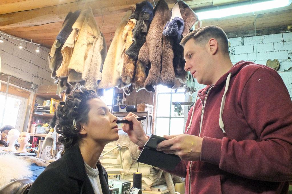 Maquillage Andrea par Arnaud Dandrau